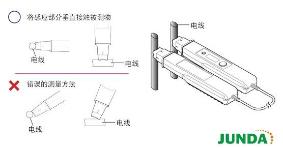 非接触式电压测试仪 3258测量原理   非接触式的 验电笔3480系列和