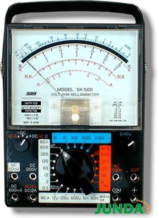 sk-500指针式模拟万用表,sk500万用表
