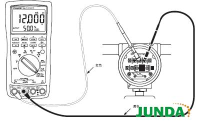 若电表由于负载电阻太高或回路电压太低而无法提供设定的电流,数字