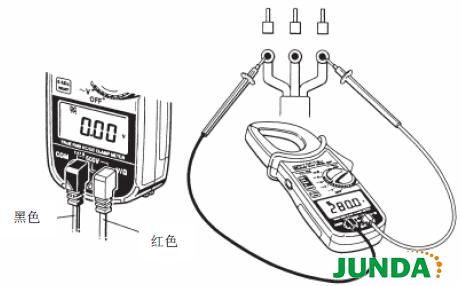 日本共立MODEL 2037交直流钳形表如何测量电压