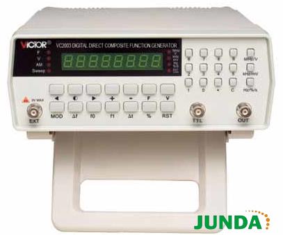 胜利vc2003 数字合成信号发生器