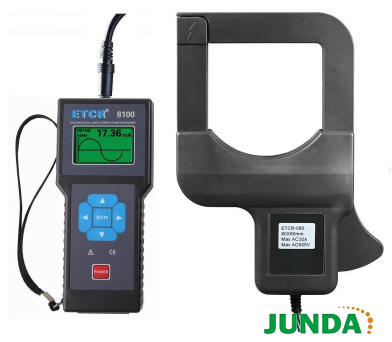 etcr8100变压器铁芯接地电流测试仪监控软件具有在线